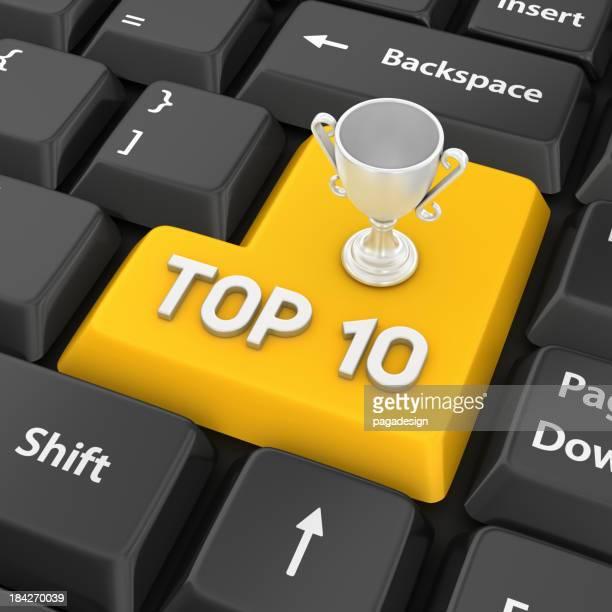 top ten Eingabetaste