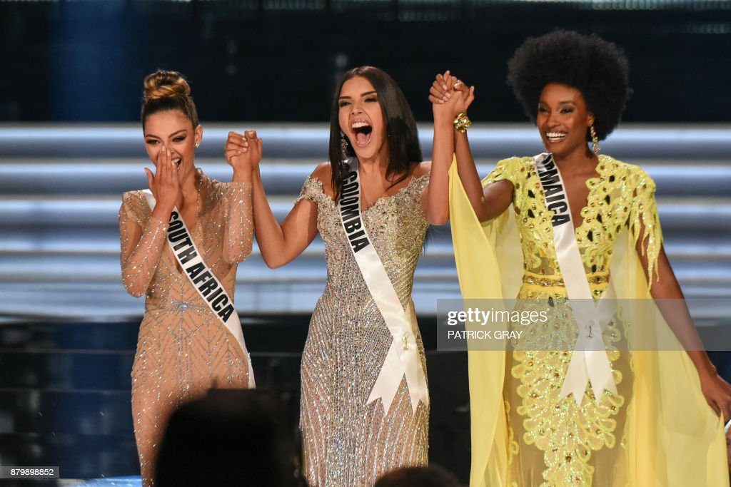 ENTERTAINMENT-US-PAGEANT-MISSUNIVERSE : News Photo