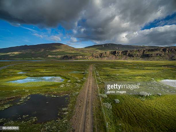 Top view- Eastern Landscape, Iceland