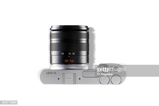 Top view of a Leica TL mirrorless digital camera taken on January 18 2017