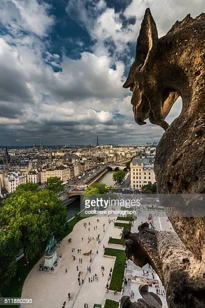 Top view of Paris
