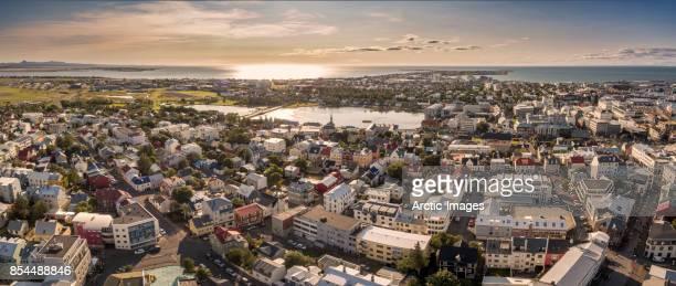 Top view-Reykjavik, Iceland