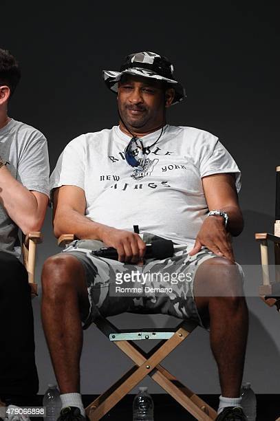 Topaz attends Apple Store Soho Presents Meet the Filmmaker Shan Nicholson Rubble Kings at Apple Store Soho on June 30 2015 in New York City