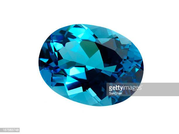 topaz gemstone - topaz stock photos and pictures