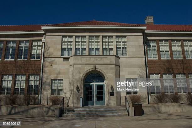 Topeka Kansas 352014 The Monroe School historic site of Brown v Board of Education what is considered the start of the Civil rights movenment in the...