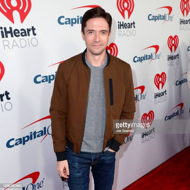 Topher Grace arrives at the 2019 iHeartRadio Podcast Awards Presented by Capital One at the iHeartRadio Theater LA on January 18 2019 in Burbank...
