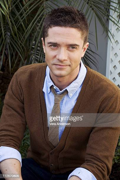 "Topher Grace at the ""Valentine's Day"" press conference at the Beverly Hilton Hotel on February 1, 2010 in Beverly Hills, California."