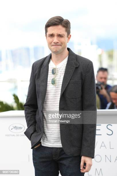 Topher Grace attends BlacKkKlansman Photocall during the 71st annual Cannes Film Festival at Palais des Festivals on May 15 2018 in Cannes France
