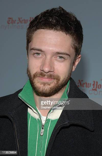 Topher Grace during 8th Annual New York Revlon Run/Walk for Women Arrivals at Times Square in New York City NY United States