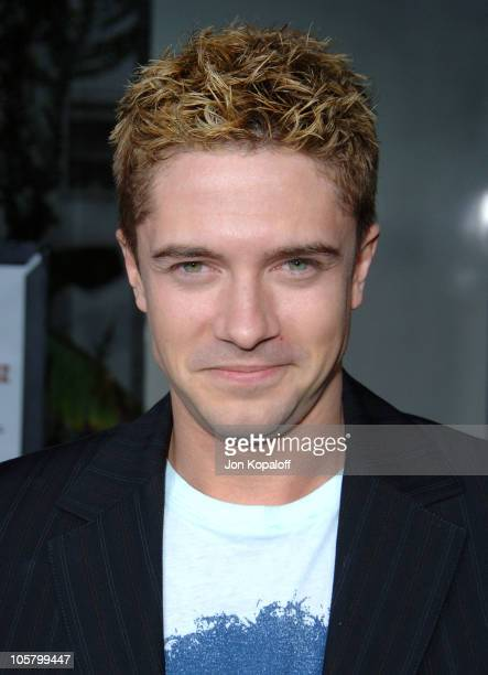 Topher Grace during American Dreamz Los Angeles Premiere Arrivals at ArcLight Hollywood in Hollywood California United States