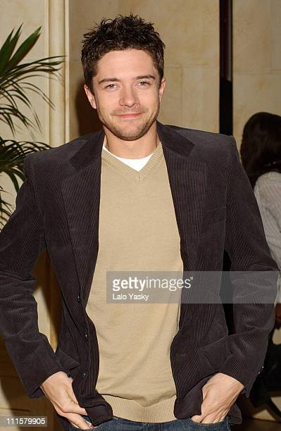Topher Grace during 'In Good Company' Madrid Photocall at Ritz Hotel in Madrid Spain