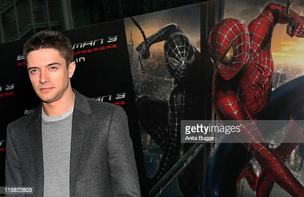 Topher Grace during SpiderMan 3 Berlin Premiere at Cinestar Cinema Berlin in Berlin Berlin Germany
