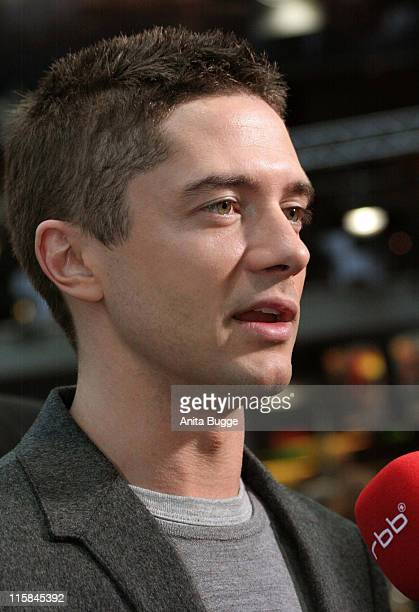 """Topher Grace during """"Spider-Man 3"""" Berlin Premiere at Cinestar Cinema Berlin in Berlin, Berlin, Germany."""