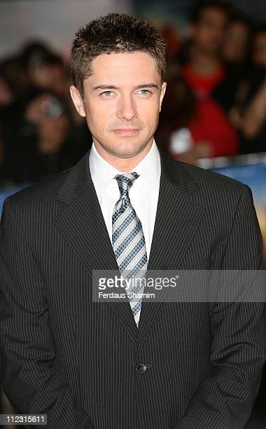 """Topher Grace during """"Spider-Man 3"""" London Premiere - Red Carpet at Odeon Leicester Square in London, United Kingdom."""