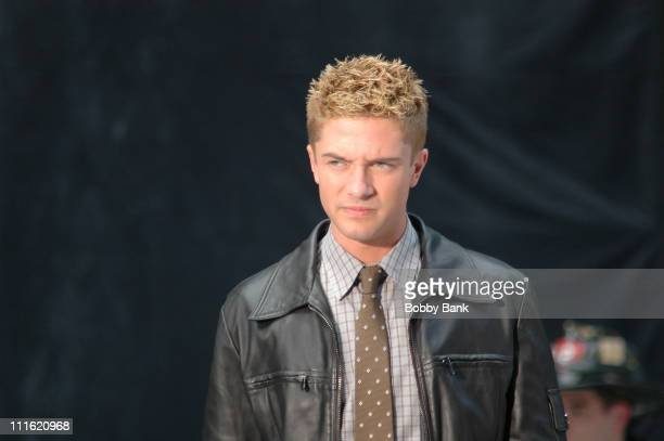 Topher Grace during 'SpiderMan 3' On Location New York City May 28 2006 at Midtown Manhattan in New York City New York United States