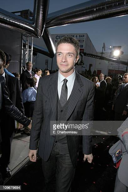 Topher Grace during US Premiere of Columbia Pictures' 'SpiderMan 3' at Kaufman Astoria 14 in Queens New York United States