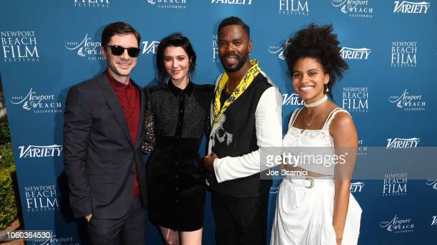 Topher Grace, Mary Elizabeth Winstead, Colman Domingo and Zazie Beetz attend the Newport Beach Film Festival Fall Honors and Variety's 10 Actors To...