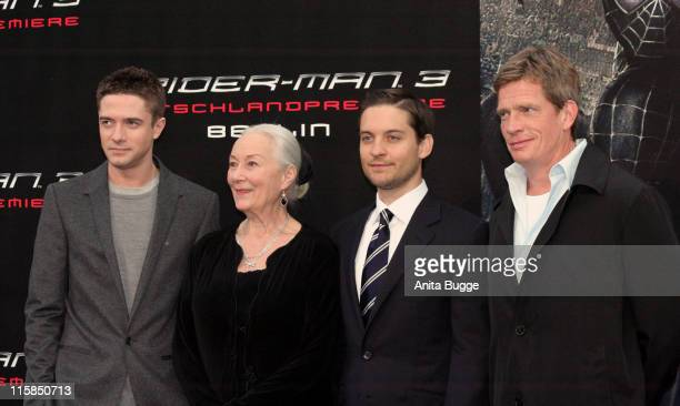 Topher Grace Rosemary Harris Tobey Maguire and Thomas Haden Church