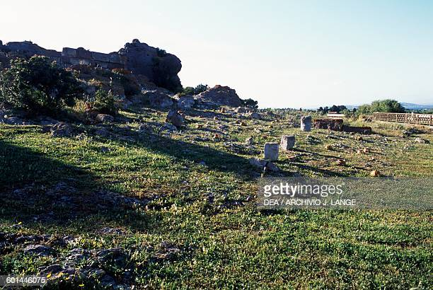 Tophet of the ancient city of Sulci Sardinia Italy Punic civilisation