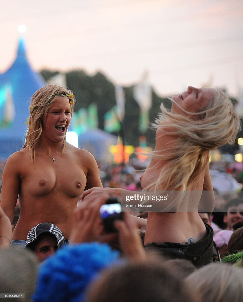 Topless girls in newspapers 14