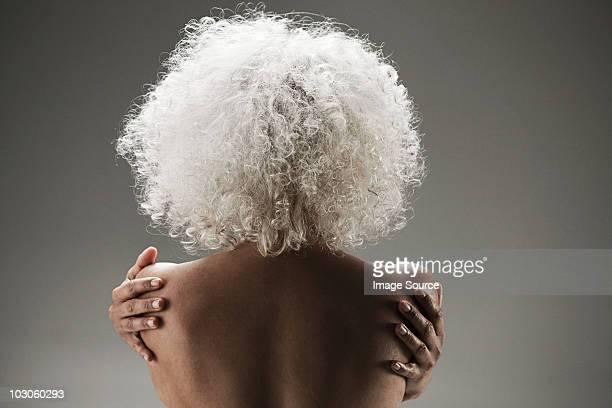 topless mature woman - medelålders kvinnor naken bildbanksfoton och bilder