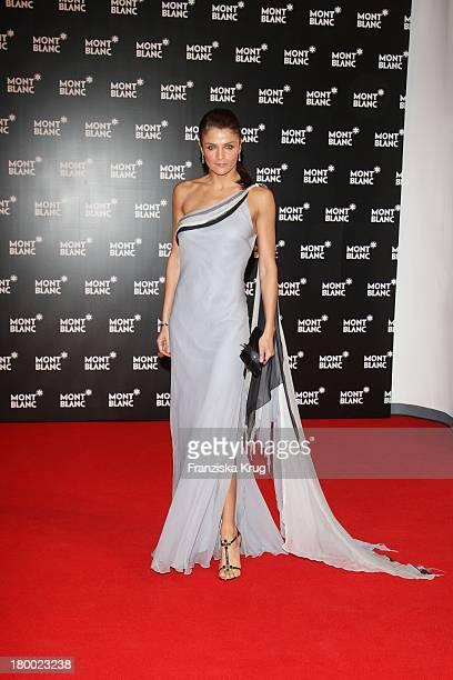 Topmodel Helena Christensen Bei Der Charity Gala Und Weltpremiere Der Montblanc Prinz Rainier Iii Limited Edition 81 Hommage An Fürst Rainier Iii Von...