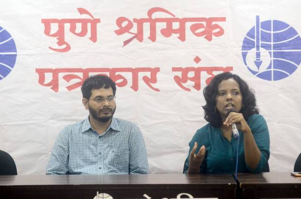 IND: Press Interaction Of UPSC IAS Topper Trupti Dodhmise (AIR 16) In Pune