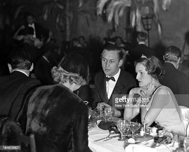 Topping Sheedy farewell party El Morrocco Night Club Winthrop Gardiner and Betty Kip
