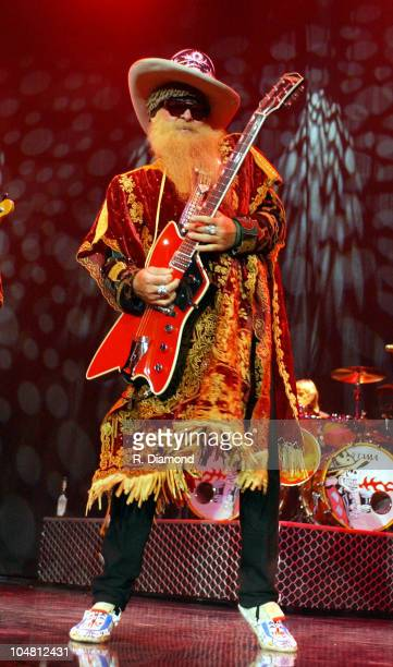 ZZ Topp's Billy Gibbons at Arena at Gwinnett Center in Duluth Georgia United States