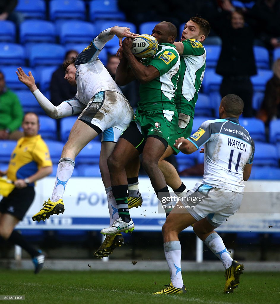 London Irish v Newcastle Falcons - Aviva Premiership : News Photo