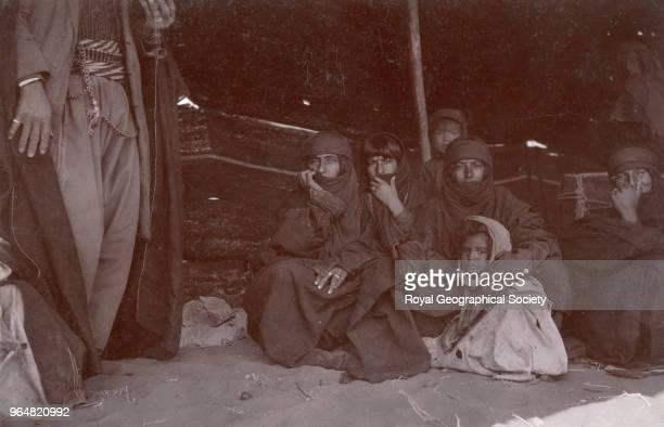 Tor al Tubaiq Andeh's harem women Jordan 1913