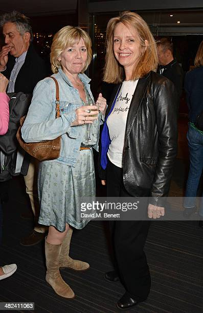 Tor Belfrage and Sabrina Guinness attend the launch of the 3rd annual 'Made In Britain' season featuring the films of producer Jeremy Thomas at the...