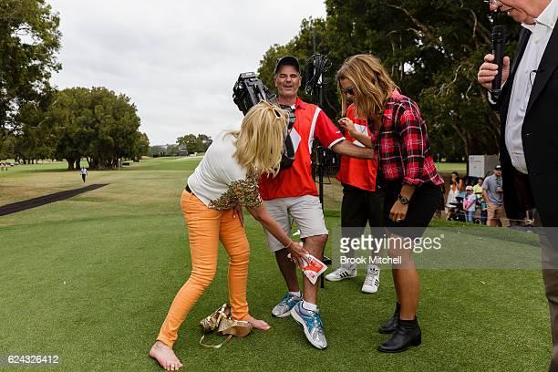 golf cameraman stock photos and pictures