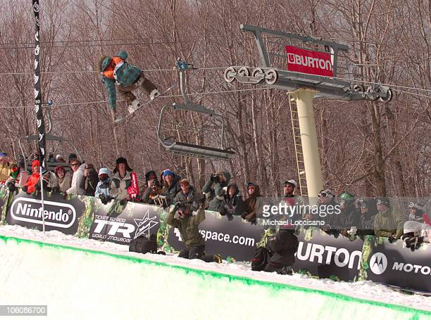 Torah Bright Halfpipe Finals March 18th during 24th Annual Burton US Open Snowboarding Championships at Stratton Mountain in Stratton Vermont United...