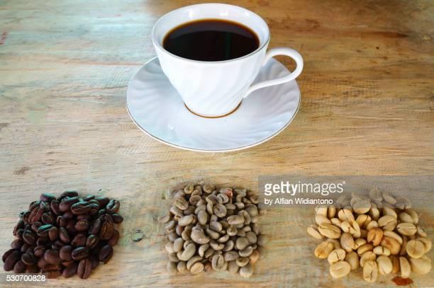 toraja coffee - rantepao stock photos and pictures