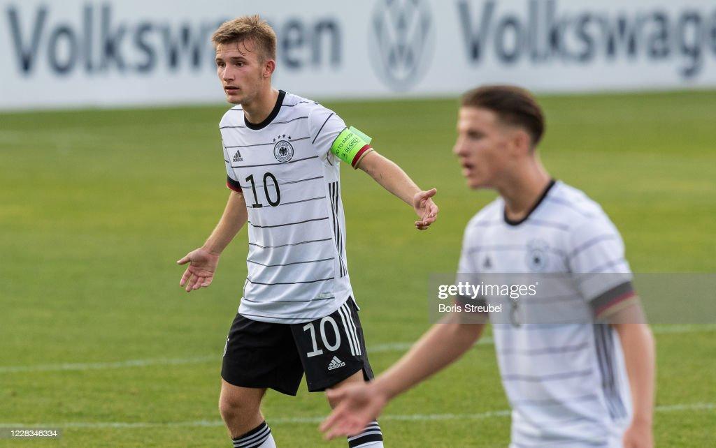 Germany U18 v Denmark U18 - International Friendly : News Photo