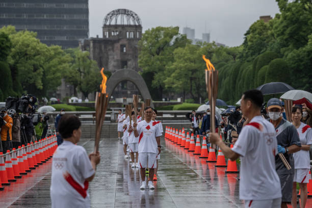 JPN: Olympic Torch Relay Hiroshima – Day 1