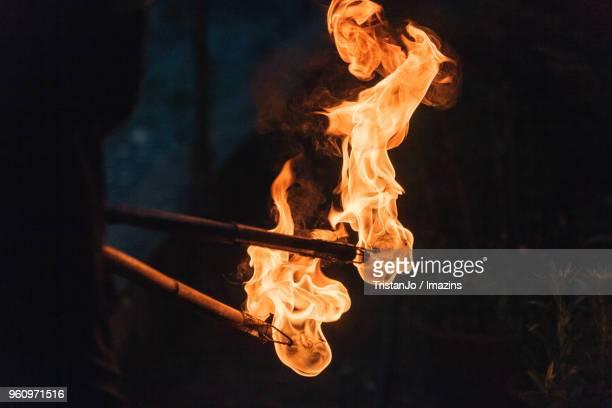 Torch, fire