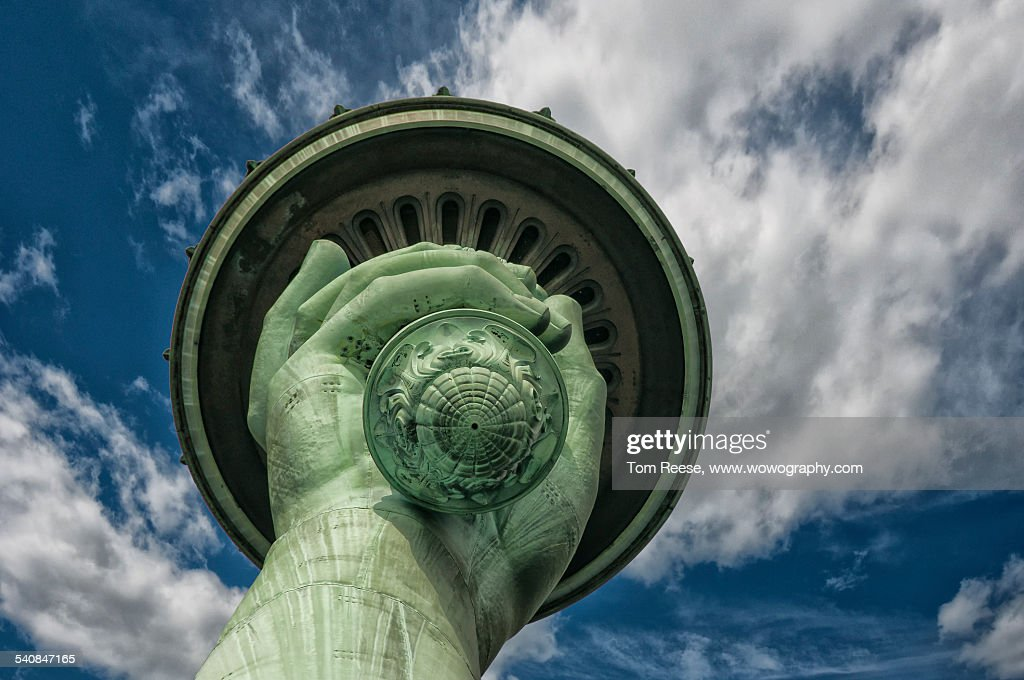 Torch of Liberty : Stock Photo