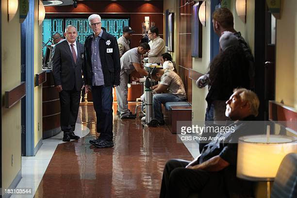 Torch Song Captain Jim Brass and DB Russell approach club owner Stu Kirchoff to ask him some questions about a fire on CSI CRIME SCENE INVESTIGATION...