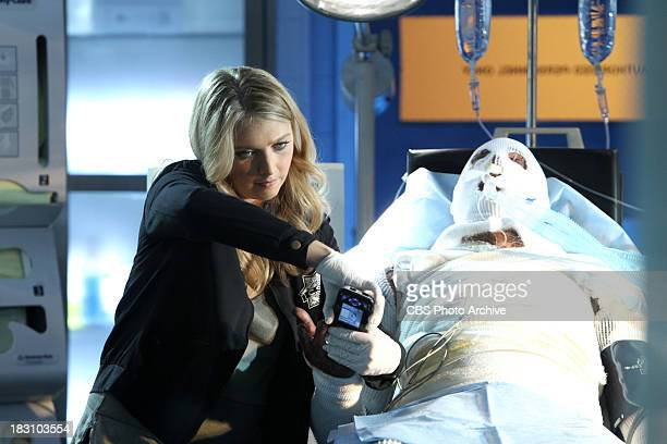 'Torch Song' Morgan Brody processes a burn victim while in the hospital on CSI CRIME SCENE INVESTIGATION Wednesday Oct 9 on the CBS Television Network