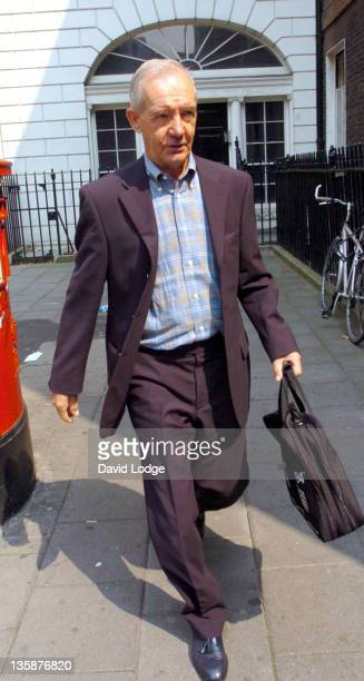 Tord Grip during England's Assisstant Manager Tord Grip Arrives at the FA Headquarters - August 5, 2004 at FA Headquarters, Soho Square in London,...