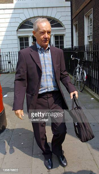 Tord Grip during England's Assisstant Manager Tord Grip Arrives at the FA Headquarters August 5 2004 at FA Headquarters Soho Square in London Great...