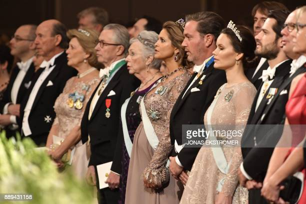Tord Magnuson Princess Birgitta of Sweden Princess Madeleine of Sweden her husband Christopher O'Neill Princess Sofia and Prince Carl Phillip of...
