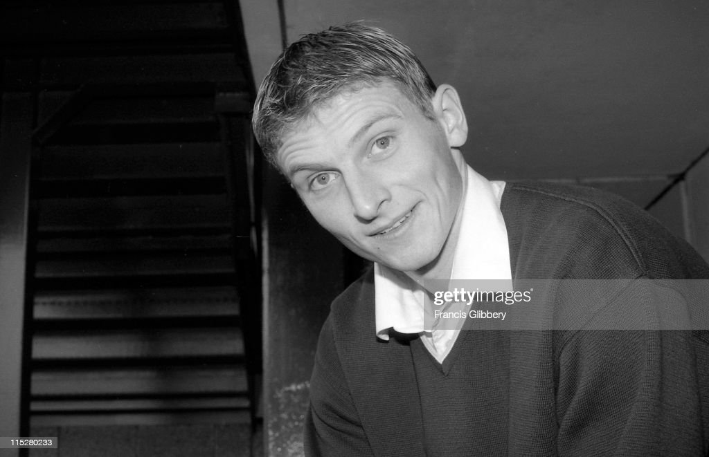 Tore Andre Flo of Chelsea arrives at Stamford Bridge during September 1998 in London, England.