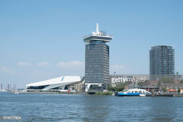 A'DAM Toren – Hello, I'm A'DAM tower in Amsterdam with the Eye building