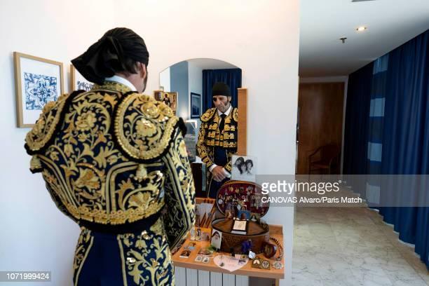 Torero Juan Jose Padilla is photographed for Paris Match on October 6 2018 in Fuengirola Spain