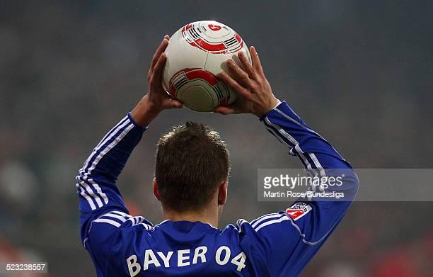Torfabrik der neue Ball der Bundesliga vor dem Bundesligaspiel zwischen SV Werder Bremen Bayer Leverkusen im Weser Stadion am 27Februar 2011 in...