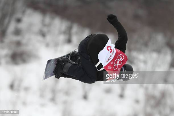 Torgeir Bergrem of Norway competes during the Men's Big Air Final Run 2 on day 15 of the PyeongChang 2018 Winter Olympic Games at Alpensia Ski...