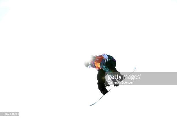 Torgeir Bergrem of Norway competes during the Snowboard Men's Slopestyle Final on day two of the PyeongChang 2018 Winter Olympic Games at Phoenix...